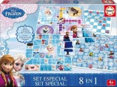 Pack Jogos Disney Frozen 8 em 1