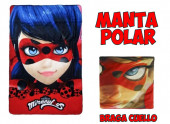 Pack Manta Polar + Cachecol Tubular Ladybug