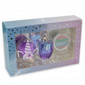 Pack Perfume, Porta Chave e Sombra Olhos Unicórnio