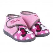 Pantufa Bota Baby Minnie Dots