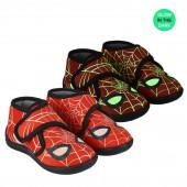 Pantufa Bota Baby Spiderman Brilha no Escuro