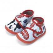 Pantufa Bota Bebé Mickey