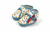 Pantufas Azuis Bebé Fisher-Price