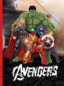 Pasta elástico A4 Marvel Avengers Age of Ultron
