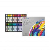 Pastel Seco Artist 24 Cores Colorino