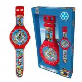Patrulha Pata Relógio Parede 47cm