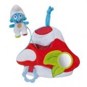 Peluche actividades bebé Smurfs 19cm