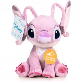 Peluche Angel Disney com Som 20cm