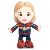 Peluche Capitã Marvel Avengers 30cm