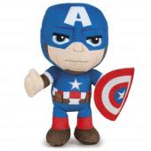 Peluche Capitão América Avengers 30cm