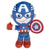 Peluche Capitão América Avengers Marvel 19cm