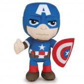 Peluche Capitão América Avengers Marvel 26cm