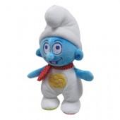 Peluche com chocalho Smurf 25cm