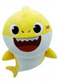 Peluche com Som Baby Shark Amarelo 19cm
