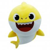 Peluche com Som Baby Shark Amarelo