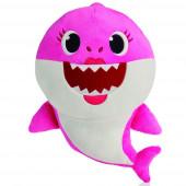 Peluche com Som Baby Shark Rosa