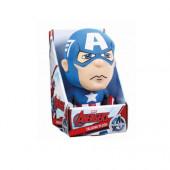 Peluche com Som Capitão América Avengers 25cm