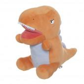 Peluche Dinossauro T-Rex Laranja