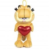 Peluche Garfield com Coração 36cm