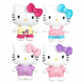 Peluche Hello Kitty Pijama Party 27cm Sortido