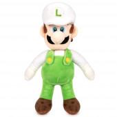 Peluche Luigi Branco - Super Mario Bros 35cm