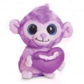 Peluche Luvee Monkey Purple Yoohoo & Friends Macaco Coração