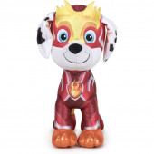 Peluche Marshall Patrulha Pata Super Paws Mighty Pups 19cm