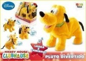 Peluche Pluto Divertido sons e movimentos