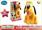 Peluche pluto sons divertidos