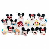 Peluche porta chave 10cm  Disney Emoji -  sortido