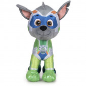 Peluche Rocky Patrulha Pata Super Paws Mighty Pups 27cm