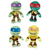 Peluche Tartarugas Ninja Suave (pack 12)