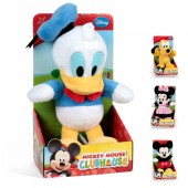 Peluches 25cm Mickey Clube House - sortidos