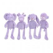 Peluches bebé violeta 40cm - sortido