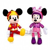 Peluches Mickey e Minnie Mouse Roadster Racers  25cm - sortido