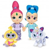 Peluches Shimmer and Shine de 24cm e 38cm