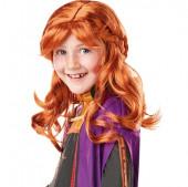 Peruca Criança Anna Frozen 2