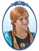 Peruca de Anna Frozen