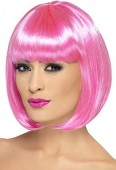 peruca rosa shock