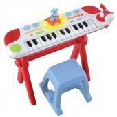 Piano Infantil Luzes e Sons 12m+