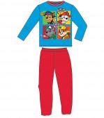 Pijama 100% algodão azul Patrulha Pata