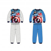 Pijama algodão interlock com caixa dos Avengers