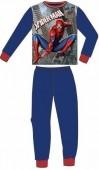 Pijama azul manga comprida Spiderman