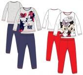 Pijama com mangas de Minnie Mouse