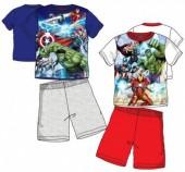 Pijama de manga curta Avengers - sortido