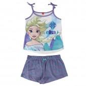 Pijama de Verão com alças de Frozen