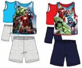 Pijama dos Avengers sem mangas