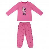 Pijama Interlock Minnie Disney Rosa