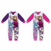 Pijama macacão Frozen Disney - sortido