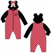 Pijama Macacão Polar com Capuz Bebé Minnie